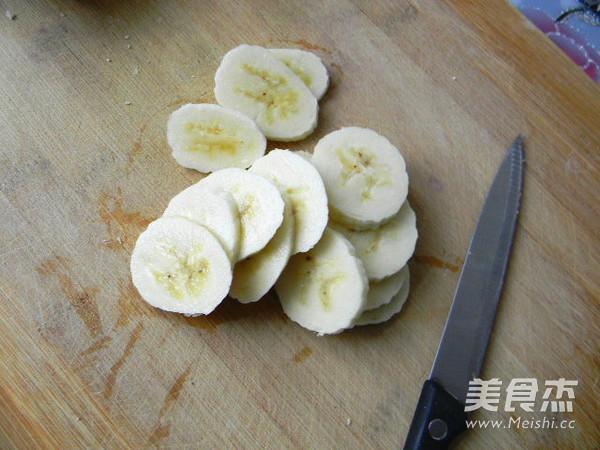 香蕉馒头夹的做法图解