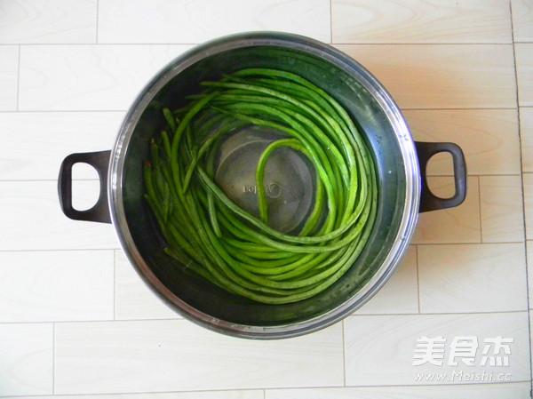 蒜香豇豆的做法大全