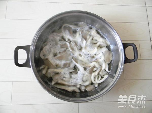 香烤平菇的做法图解