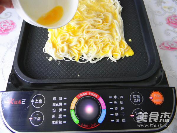 鸡蛋挂面煎饼怎么煮