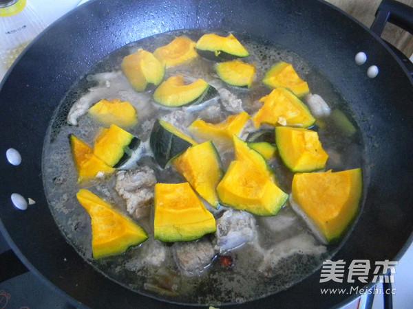 排骨炖南瓜怎么煮