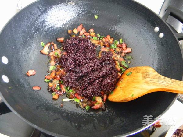 腊肉糯米卷怎样炒
