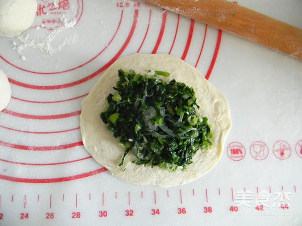 菠菜粉丝发面饼怎样做