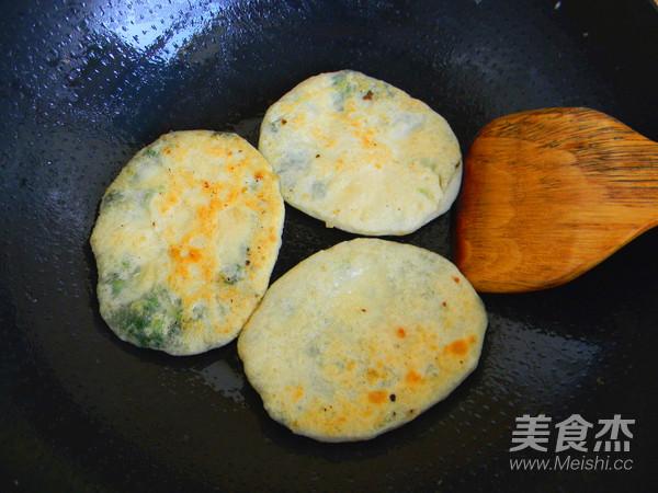 菠菜粉丝发面饼的制作