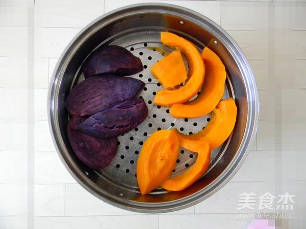 紫薯南瓜包的做法大全