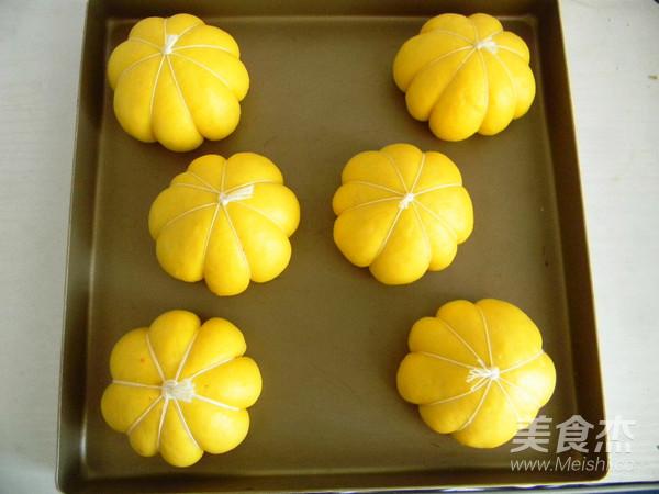 紫薯南瓜包的制作方法