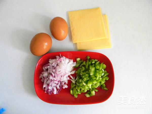 蛋香芝士三明治的家常做法