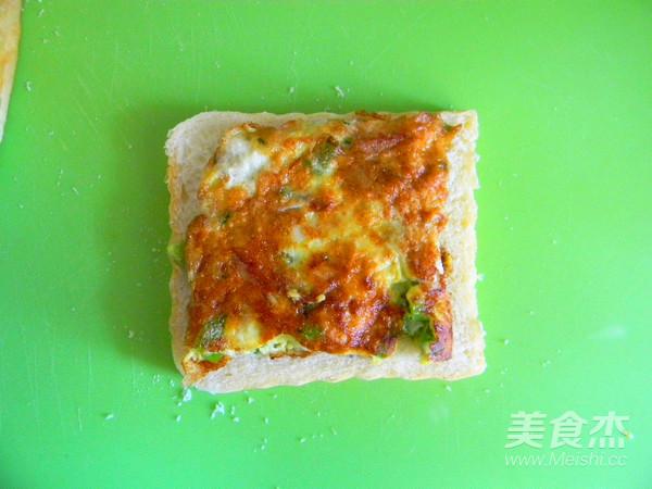 蛋香芝士三明治怎么煮