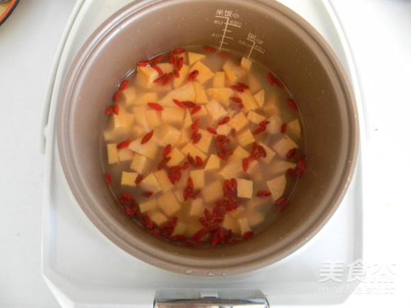 红薯枸杞焖饭怎么吃