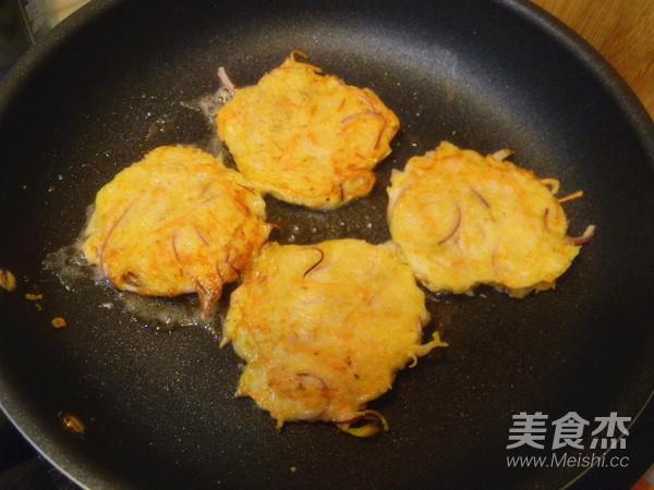 土豆胡萝卜丝饼怎么煸