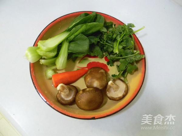 香菇蔬菜面的做法大全