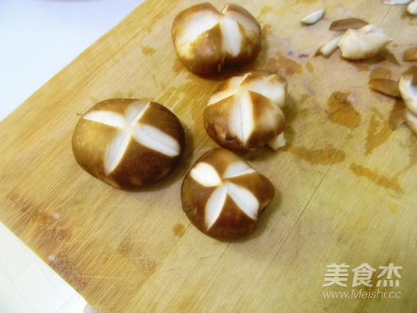 香菇蔬菜面的家常做法