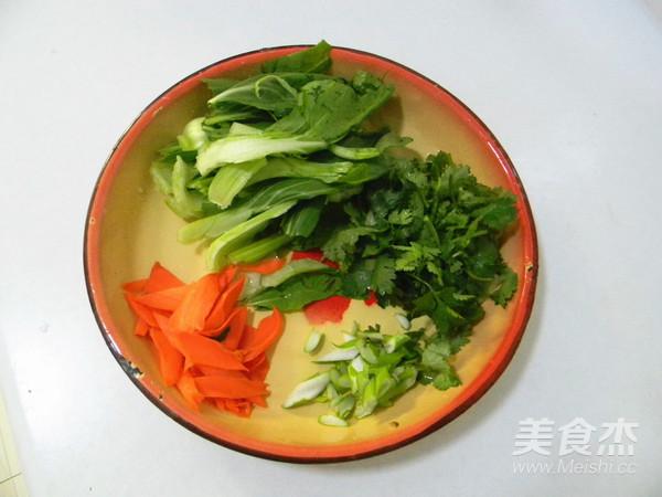 香菇蔬菜面的做法图解