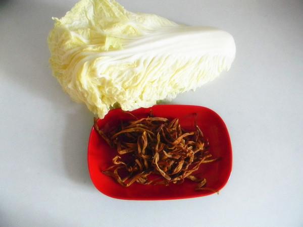 白菜拌黄花菜的做法大全