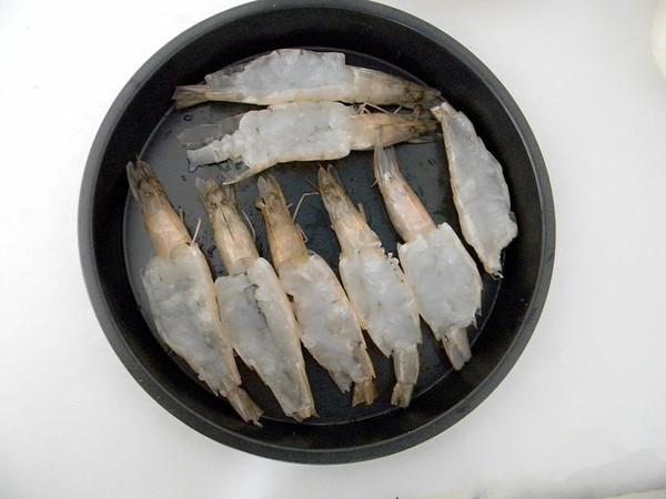 蒜蓉开背虾怎么做