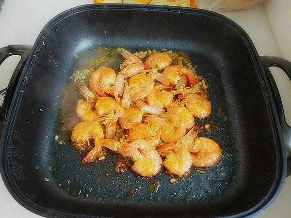 蒜香基围虾怎么炒