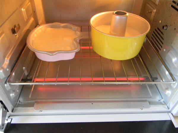 黄金海绵蛋糕怎样煸