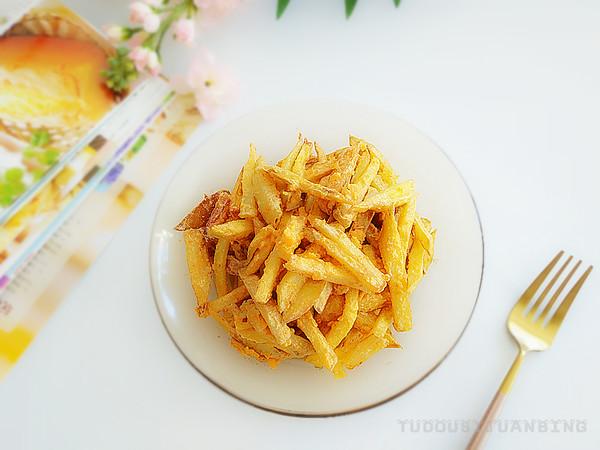 蛋黄焗红薯成品图