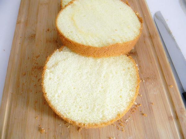 奶油裱花蛋糕怎么煸