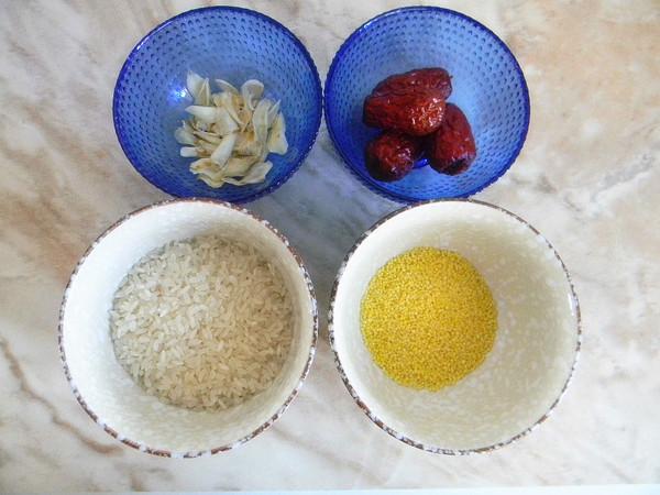 红枣百合二米粥的做法大全