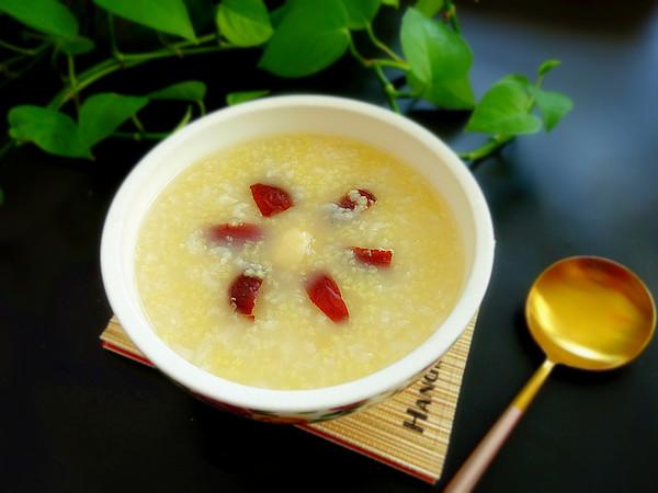 红枣百合二米粥怎么做