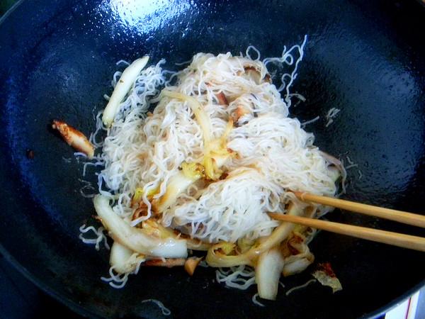 柠檬炒米粉怎么煮