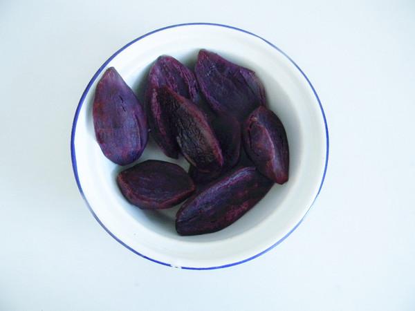 紫薯面包块的做法图解