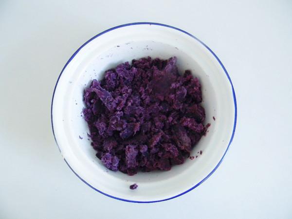 紫薯面包块的家常做法