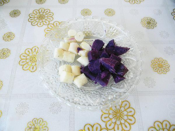 紫薯山药粥的做法图解