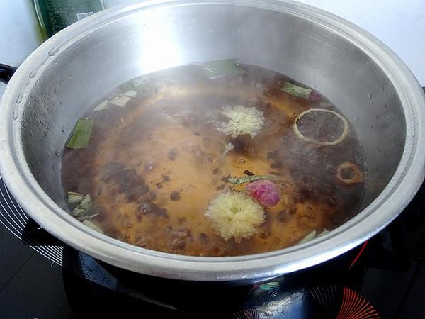 米香花果奶茶的家常做法