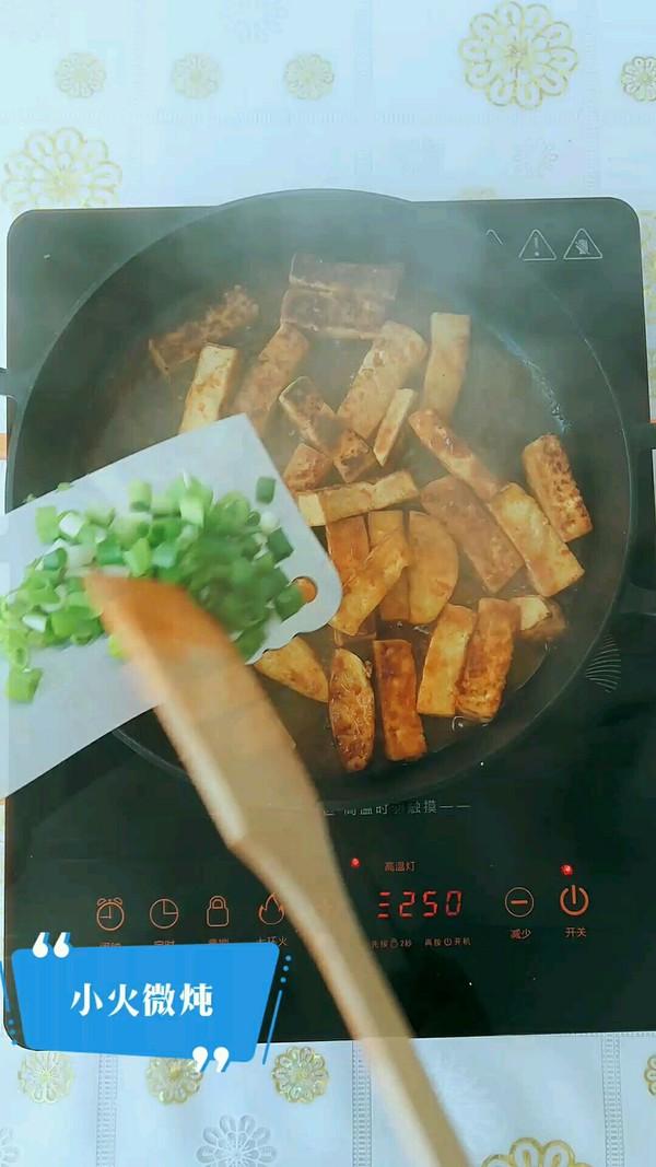 香辣豆腐条怎么吃