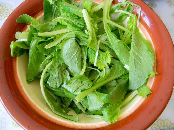蒜香小白菜的做法大全