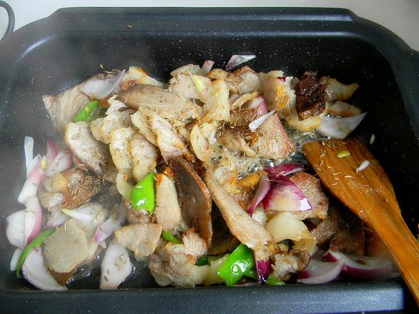 回锅肉片的步骤