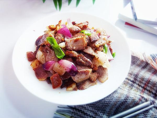 回锅肉片成品图