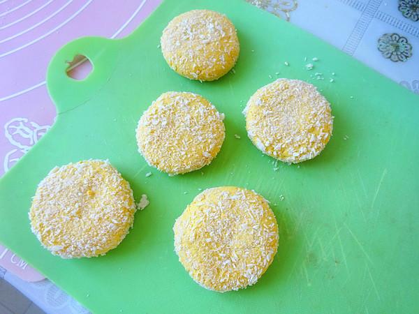 脆皮椰香南瓜炸糕怎么煮