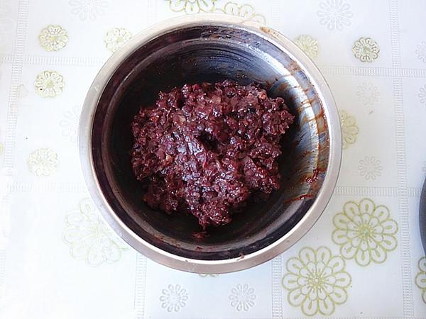 糯米粉红豆油炸糕的家常做法