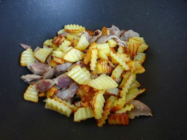 鸡胗炒土豆怎么吃