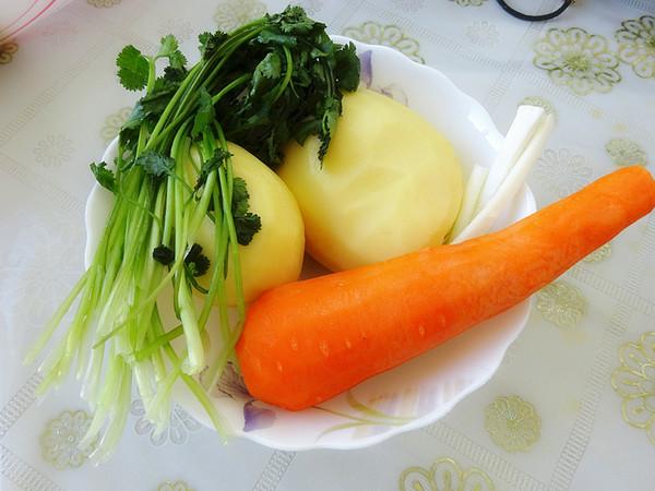 土豆胡萝卜饼的做法大全