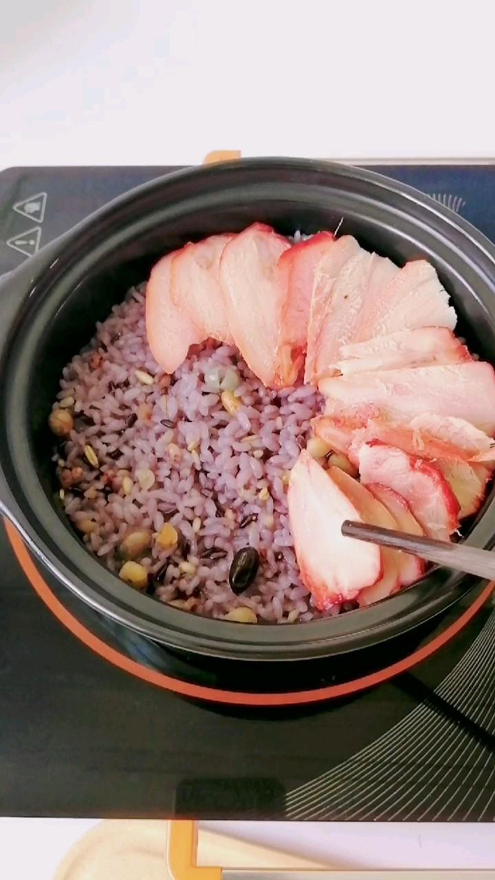 多谷米煲仔饭怎么吃