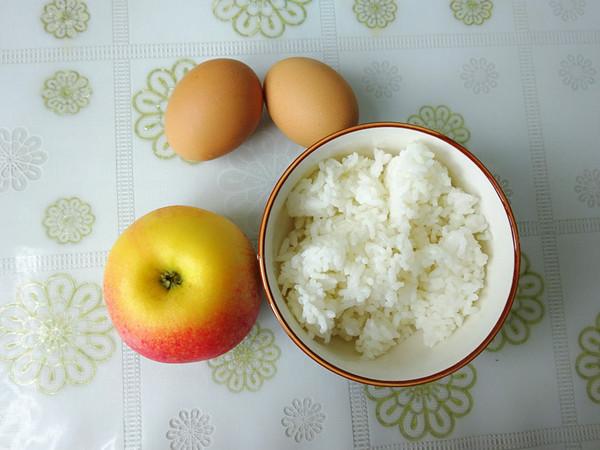 米饭苹果煎饼的做法大全