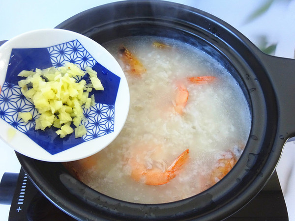 鲜虾营养粥怎么煮