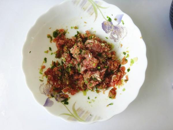 青椒猪肉馄饨的简单做法
