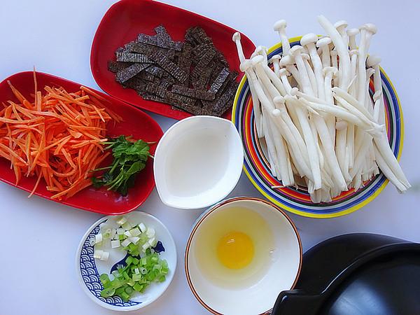 鲜菇紫菜汤的做法大全