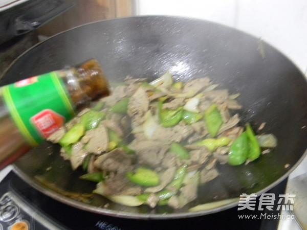 洋葱炒猪肝怎么煮