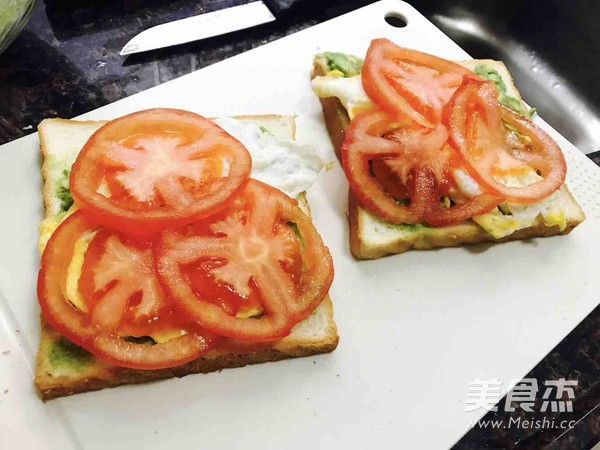 牛油果吞拿鱼三明治的做法图解