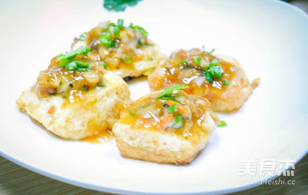 虾仁香菇豆腐酿怎么炖