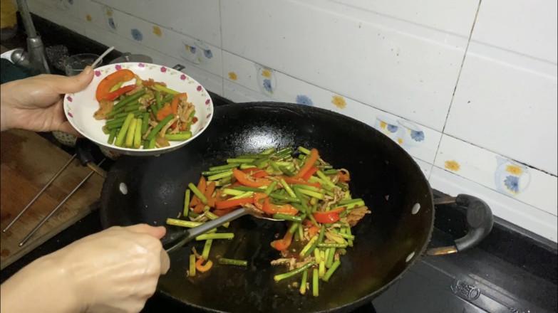 蒜苔炒肉怎么煮