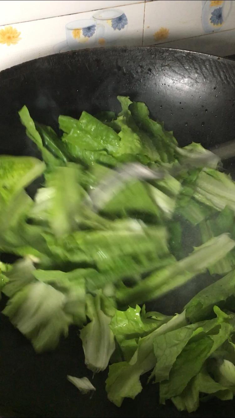 油麦菜加这种酱炒不比豆豉鲮鱼油麦菜味道差的家常做法