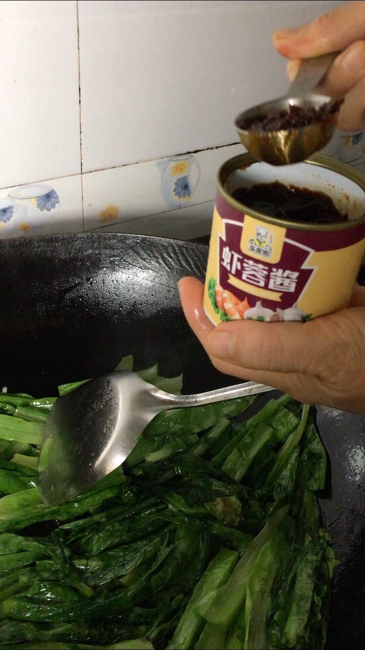油麦菜加这种酱炒不比豆豉鲮鱼油麦菜味道差的简单做法