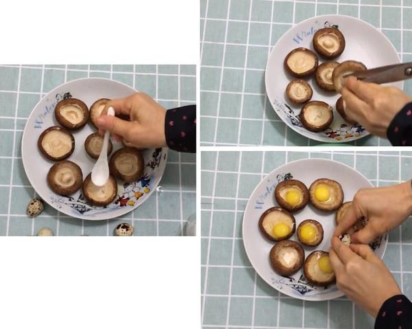 香菇蒸鹌鹑蛋的做法大全
